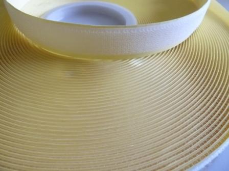 Klettband  Hakenband 25m weiss selbstklebend